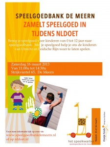 Poster inzameling 16 maart 2013