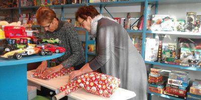 Sinterklaasdrukte bij de Speelgoedbank!